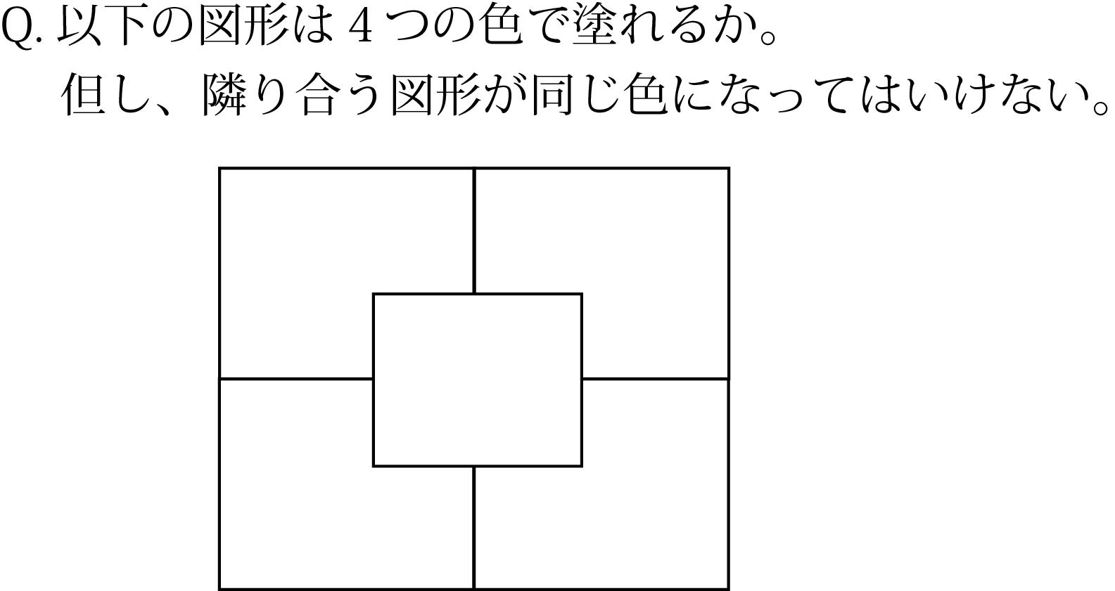 「いろわけ」の問題3