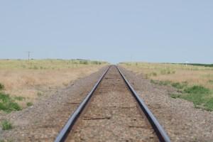 無限に続く線路