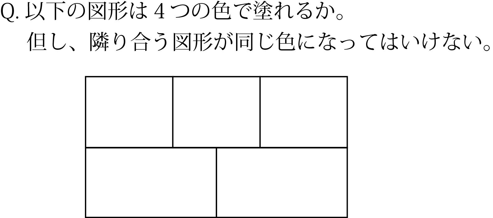 「いろわけ」の問題2