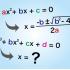 三次方程式の解の公式が長すぎて教科書に書けない!